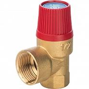 """Клапан предохранительный Stout SVH для систем отопления, 1/2""""x3/4"""", 3 бара (SVS-0001-003015)"""