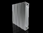 Радиатор биметаллический Royal Thermo PianoForte Satin Silver 500 8 секций