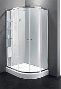 Душевой уголок Cezares Anima 120x100x200 см, прямоугольный асимметричный, хром (ANIMA-W-RH-2-120/100-P-Cr-L)