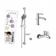 Комплект для ванной Vitra Minimax S (A49153EXP)