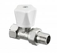 Ручной вентиль регулирующий Oventrop HR прямой 1/2 (арт 1190604)