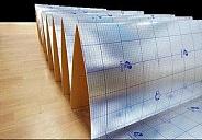 """Подложка """"Солид"""" гармошка фольгированная с пароизоляцией 3 мм (1050x500) (10,5 кв.м упаковка)"""