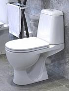 Унитаз напольный Sanita Luxe Max с крышкой-сиденьем микролифт