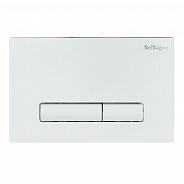 Кнопка смыва BelBagno Genova, 15x23x0,65 см, белый (BB018-GV-BIANCO)