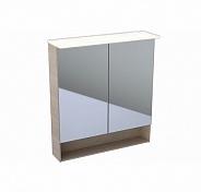 Шкафчик с зеркалом Geberit Acanto, дуб Мистик, 740x830x215 мм (500.645.00.2)