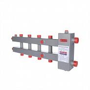 Гидроразделитель с коллектором горизонтальный Valtec 3 контура, до 70 кВт (VTc.100.SH.070603)