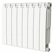 Радиатор биметаллический Теплоприбор BR1-350 8 секции боковое подключение