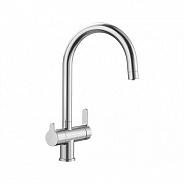 Смеситель для кухни встроенный излив для питьевой воды с запорным вентилем Blanco Trima, нержавеющая сталь (525820)