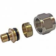 Фитинг Stout компрессионный для труб PE-Xc/Al/ PE-Xc 16х2,6х3/4 (арт. SFC-0026-162634)