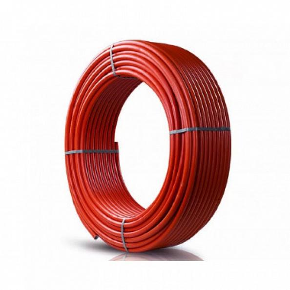 Труба Stout 20х2,0 PEX-a из сшитого полиэтилена с кислородным слоем, красная (отрезок 20 м) (SPX-0002-002020)