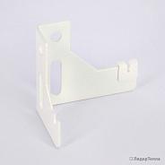 К9.2 BR настенный кронштейн правый белый с пласт.встав. (для 10/11 типов)40 шт в упаковке