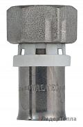 Пресс-фитинг с накидной гайкой Valtec 16 х 1/2 (VTm.222.N.001604)