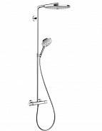 Душевая система Hansgrohe Raindance Select Showerpipe S300 2 jet бел/хром (27133400)