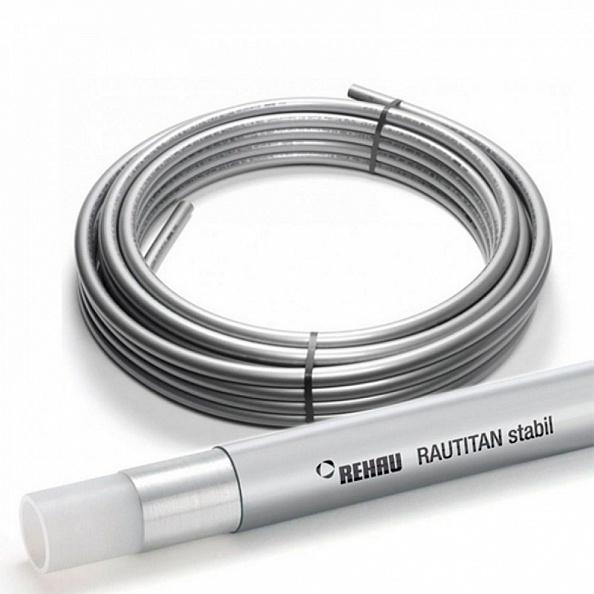 Труба Rehau Rautitan Stabil 16,2х2,6 мм из сшитого полиэтилена (отрезок 80 метров) (11301211100)