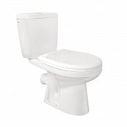 Унитаз напольный Santek Анимо с сиденьем дюропласт Soft-close, косой выпуск (1WH302137)