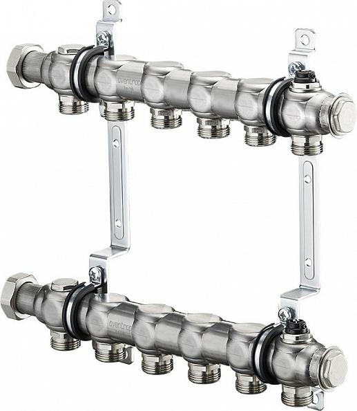 """Коллектор Oventrop Multidis SH 1"""" на 6 контуров для радиаторного отопления (1407156)"""