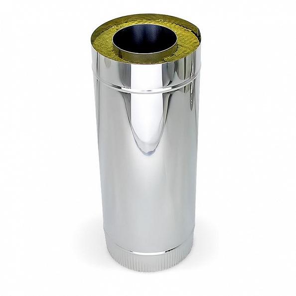 Сэндвич труба Ferrum Ø130x200, 250 мм нержавейка