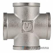 Фитинг Valtec резьбовой крестовина ВВ 1 (VTr.760.N.0006)