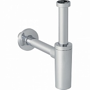 Сифон для раковины дизайн Geberit Uniflex, хром глянцевый (151.036.21.1)
