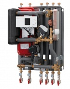 Danfoss (Данфосс) Тепловой пункт Akva Lux II VX HWP тип 2 HE + тип 2 ГВС (004U8271)