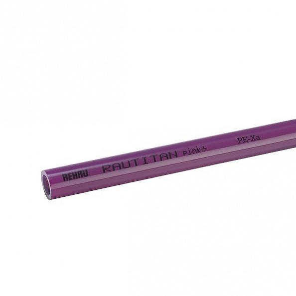 Труба Rehau Rautitan Pink Plus 20x2.8 мм (отрезок 1 м) (13360521120)