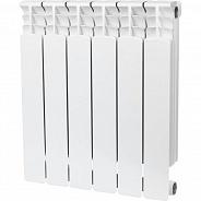 Радиатор биметаллический Stout Space 500 6 секций боковое подключение (SRB-0310-050006)