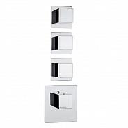 Термостат для ванны Bossini Outlets (Z032205.030) на три потребителя