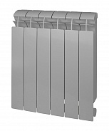 Биметаллический радиатор Global Style Plus Grigio Argento 500 \ 1 секция \ серый
