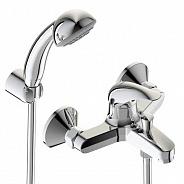 Смеситель Vidima Orion настенный для ванны/душа, душевой гарнитур в комплекте (BA004AA)