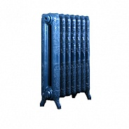 Чугунный ретро-радиатор Exemet Romantica 660/500 1 секция, размер с ножками 660x215x78