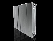 Радиатор биметаллический Royal Thermo PianoForte Satin Silver 500 10 секций