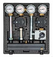 Насосно-смесительный модуль Meibes Kombimix 2 UK_UPSO 15-65
