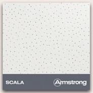 Подвесной потолок Armstrong плита Scala (Скала) 600х600х12 мм