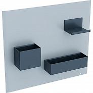 Комплект магнитной доски Geberit 449x388x75 мм, песчаный матовый (500.649.JL.2)