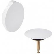 Накладная панель для ванны на слив-перелив Viega Multiplex 6162.01, белый (735883)