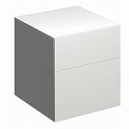 Шкафчик боковой Geberit Xeno низкий 450х510х462 мм, белый глянец (500.504.01.1)