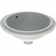 Раковина с установкой под столешницу Geberit VariForm круглой формы (33 см) (500.744.01.2)