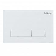 Кнопка смыва BelBagno Marmi, 15x23x0,65 см, белый (BB009-MR-BIANCO)