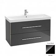 Тумба для ванной Villeroy & Boch Avento (A89200B3) (100 см) Crystal Black