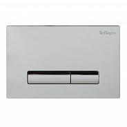 Кнопка смыва BelBagno Genova, 15x23x0,65 см, хром (BB019-GV-CHROME)