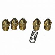 Комплект инжекторов Baxi для природного газа d=1,18 (Luna/Eco24кВт) (JJJ 608440)