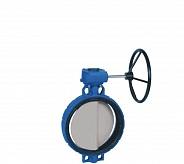 Danfoss (Данфосс) SYLAX Дисковой поворотный затвор с ручным редукторным приводом DN400 (149G082467)