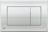 Смывная клавиша Alcaplast (M271) хром глянцевый