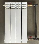 Байпас межосевое расстояние 350 мм d = 3/4 перемычка — 1/2 для отопления