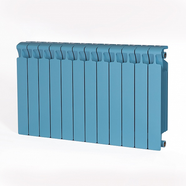 Биметаллический радиатор Rifar Monolit 500, 12 секций Сапфир