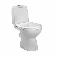 Унитаз напольный Santek Цезарь с сиденьем дюропласт Soft-close (1WH301746)
