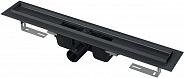 Душевой лоток Alcaplast APZ1 (APZ1BLACK-650) 650 мм черный матовый
