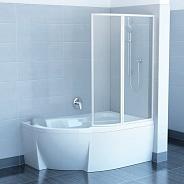 Шторка для ванной Ravak VSK2 Rosa R (76PB010041) (170 см) полистирол Rain