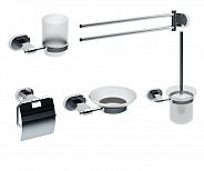 Набор аксессуаров для ванной комнаты Ravak Chrome (70508025)