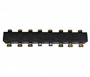 Коллектор из чёрной стали для подключения насосных групп до 7 отопительных контуров Meibes